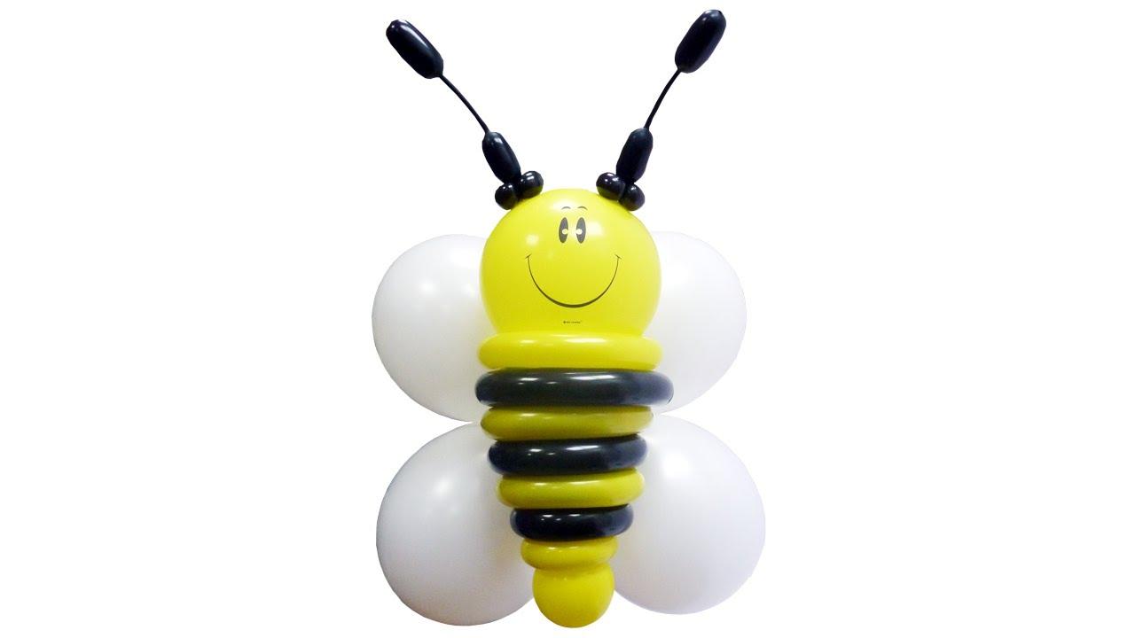 Как сделать из шариков пчелку фото 160