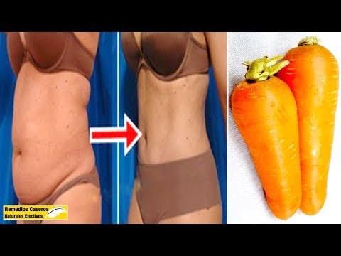 Cómo Bajar De Peso Rápido Con Zanahoria, Perder Grasa Abdominal En Solo 5 Días