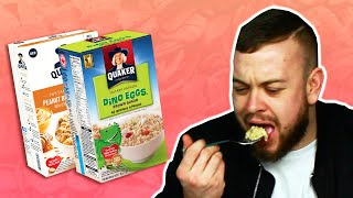 Irish People Try American Oatmeal