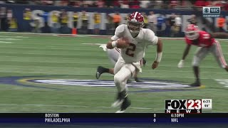 VIDEO - Alabama QB Hurts transferring to OU