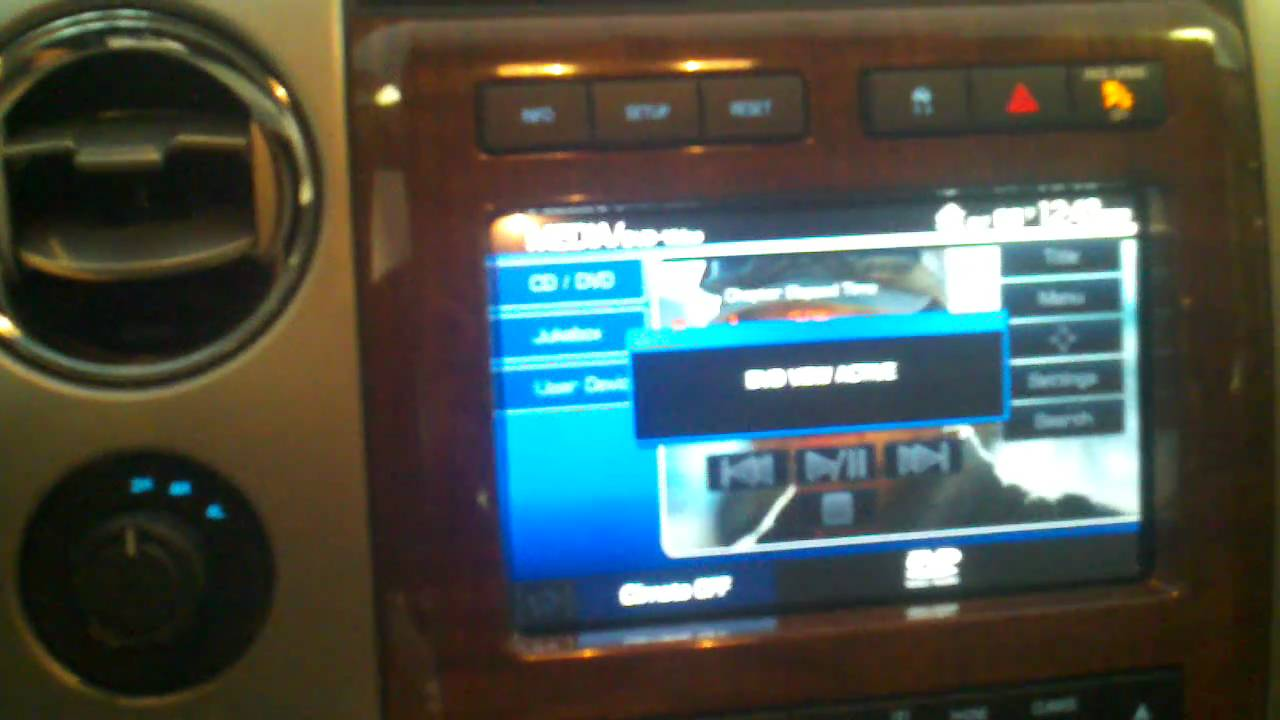 Ford Sync Video In Motion Unlock 2010 F150 Youtube
