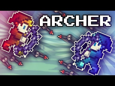 Capture The Gem // Archer Class [Terraria Multiplayer]
