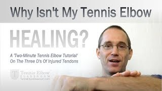 Get rid of tennis elbow in 5 minutes or less!.