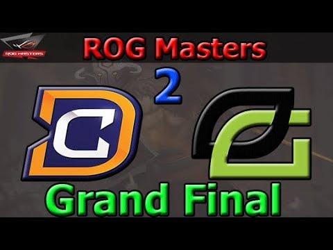 DC vs Optic Gaming Game 2   Finals   ROG MASTERS 2017