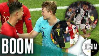 De Ligt vuole la Juve grazie a Cancelo (e Ronaldo) ||| Mercato Avsim
