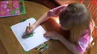 Drawing the Lego Ninjago Green Ninja