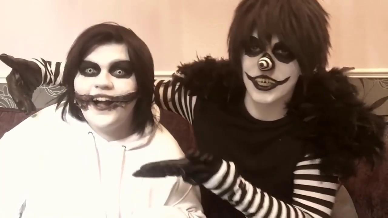 JEFFY AND JACKY REACT {CreepyPasta}