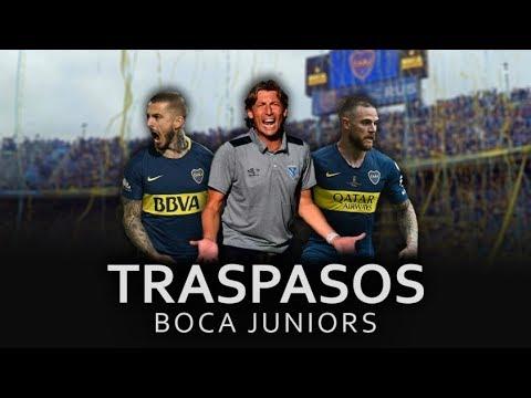 Mercado de Pases Boca Juniors 2019/ Nuevo Dt + Los jugadores que se van