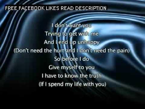 Jennifer Lopez - If You Had My Love, Lyrics In Video