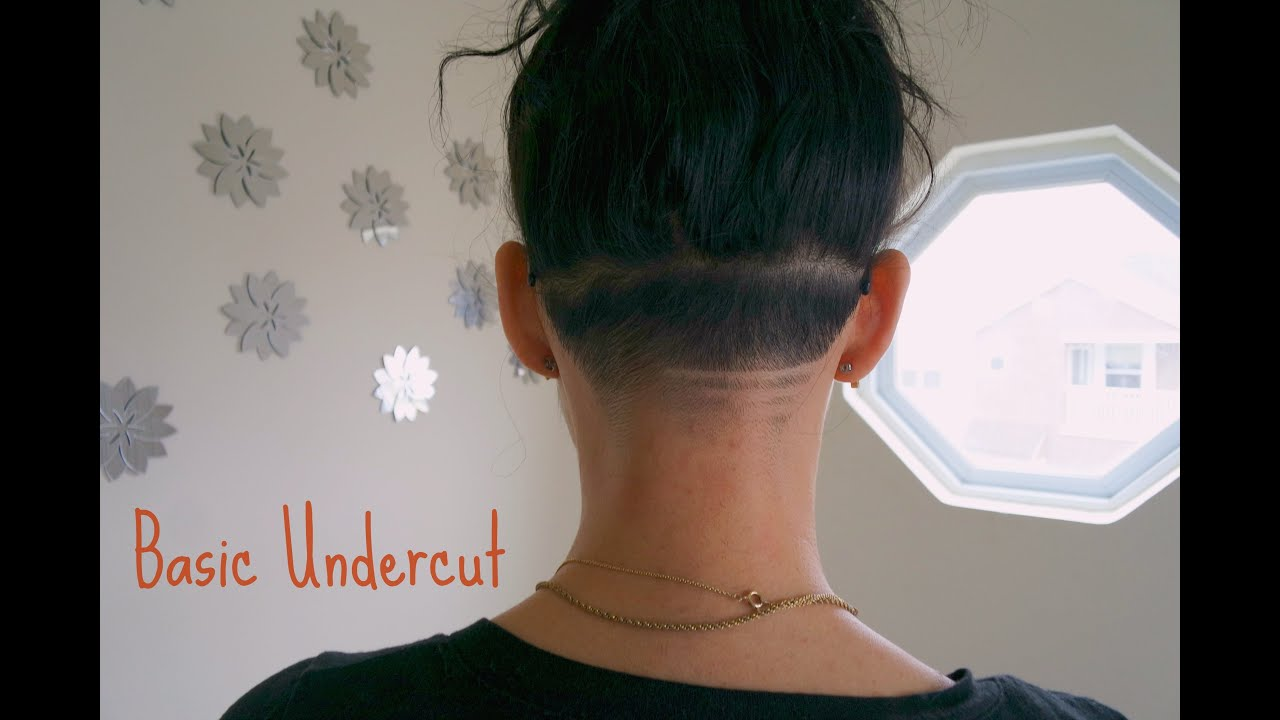 Undercut Fade How To Maintain Nape Cut Youtube
