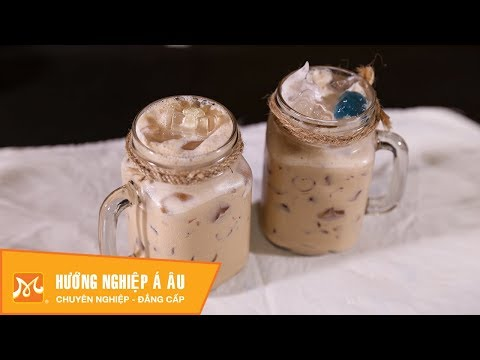 Cách làm trà sữa thạch phô mai ngon tại nhà - Học pha chế thức uống