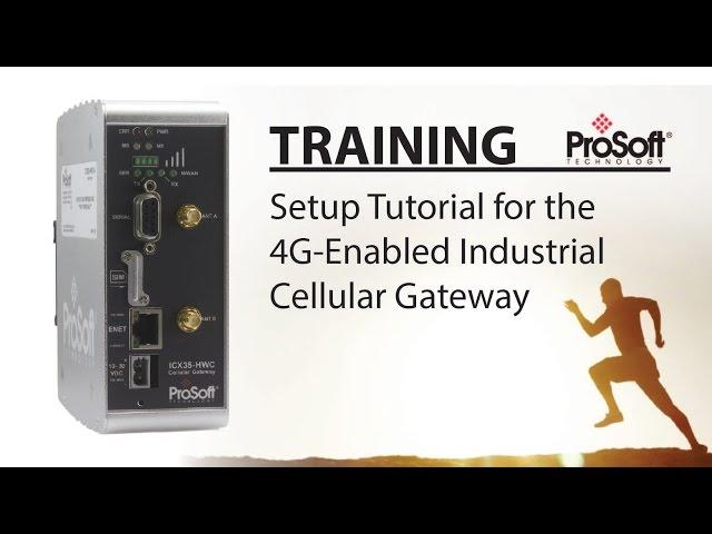 Set Up: 4G-Enabled Industrial Cellular Gateway
