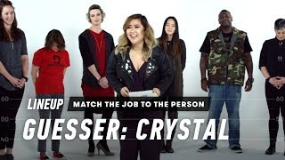 Match the Job t๐ the Person (Crystal) | Lineup | Cut