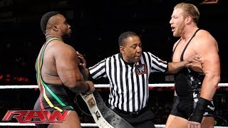 Big E vs. Jack Swagger