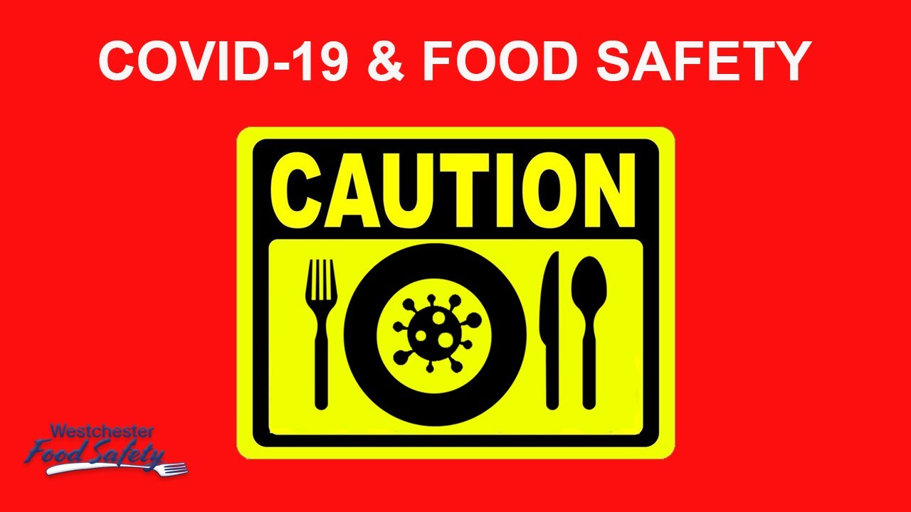 Coronavirus and Food Safety Online FREE Video Westchester Food Safety