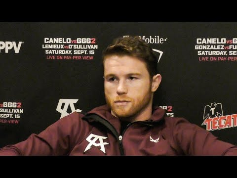 Canelo: I've DREAMED Of This My WHOLE LIFE! Vs GGG 2