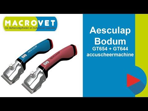 aesculap bonum gt654 en gt644 accuscheermachine voor paarden en koeien