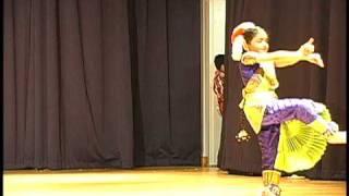 Sree Vinayakam Dance - Naomi 03-21-2010.wmv