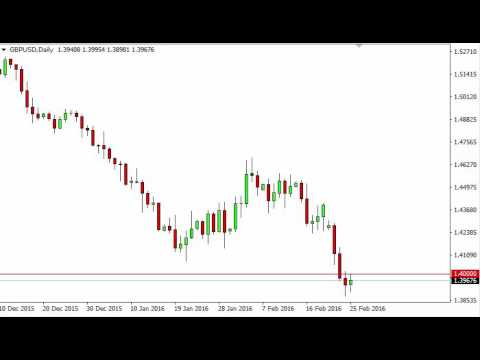 GBP/USD Technical Analysis for February 26 2016 by FXEmpire.com