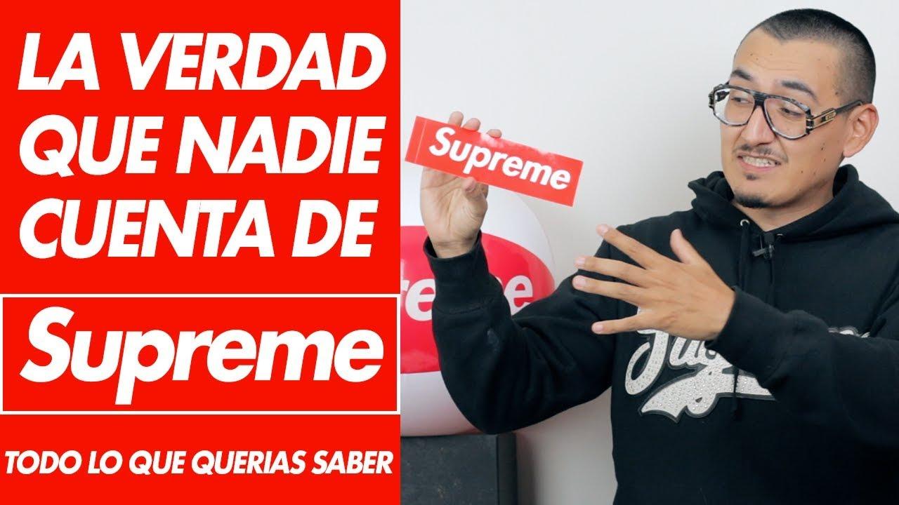 Supreme La Verdad Detras De Marca