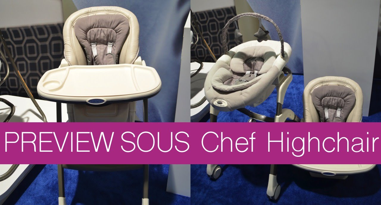 2017 05 graco blossom high chair colors - Graco Sous Chef Highchair Youtube