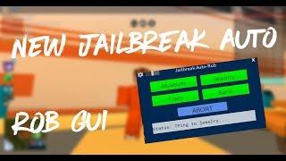 Roblox Exploit | New Jailbreak Auto Rob GUI | Working |