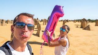 Australien Geburtstags Fail • Pinnacles, Lancelin & Camping • Weltreise | VLOG #401