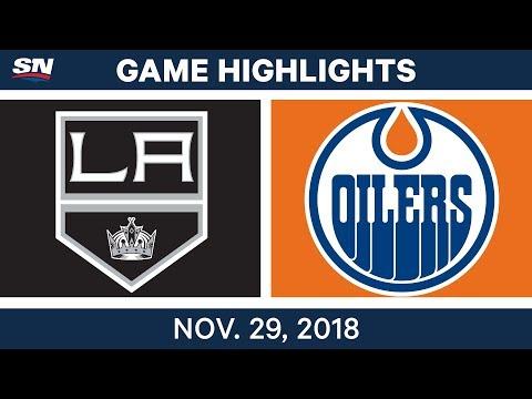 NHL Highlights | Kings vs. Oilers - Nov 29, 2018