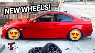 NEW WHEELS FOR MY BMW M3.. AGAIN?!!