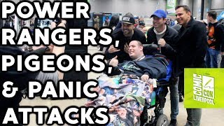 power rangers, pigeons and panic attacks - Daily Vlog