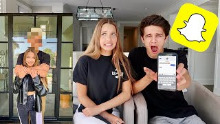 BRENT GOES THROUGH MY PHONE! (Exposed..)