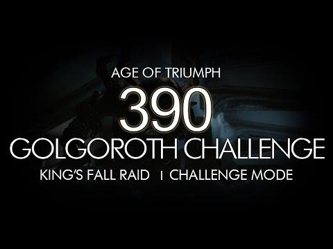 Destiny 390 Golgoroth Challenge Mode Guide Kings Fall Raid