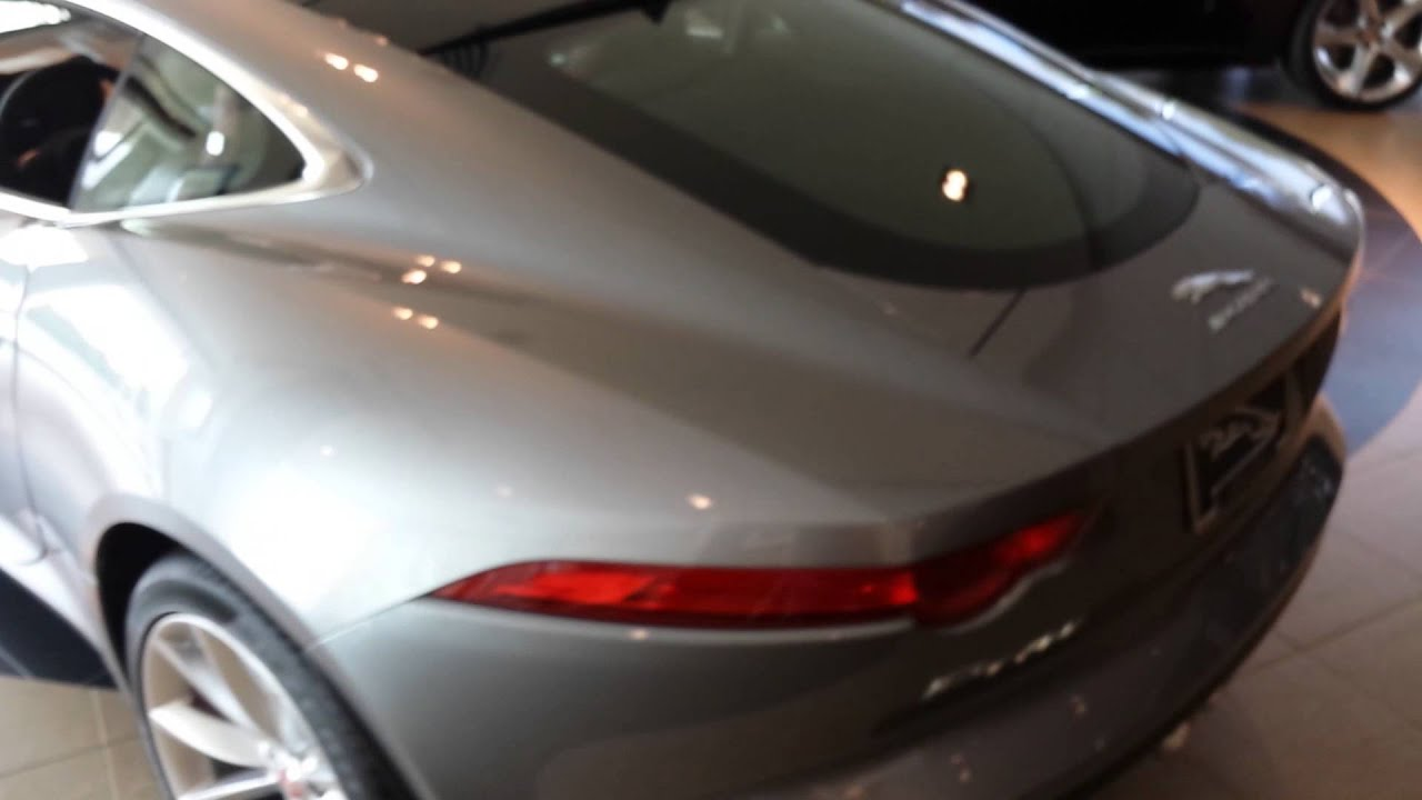 F Type Coupe >> 2015 F-Type S Coupé - Lunar Grey - YouTube