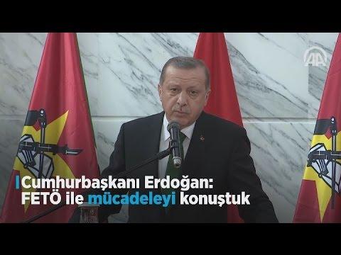 Cumhurbaşkanı Erdoğan: FETÖ ile mücadeleyi konuştuk