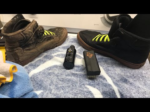 CLEANING SUPRA VAIDER D SHOES! | Using Crep On Some Extremely Muddy Supras
