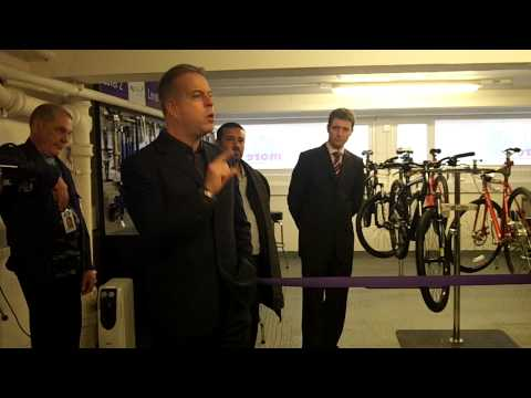 Paul Convery At The Launch Of GetMoreBikes