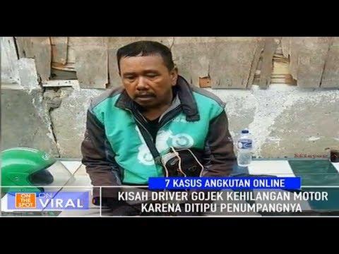 Lemas Ditipu Penumpang Driver Gojek Kehilangan Motor On The Spot Trans 7 Terbaru Juli 2017 Mp3
