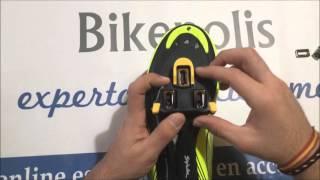 Instalación y ajuste de calas en zapatillas de carretera Spiuk 16R