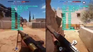 battlefield 1 dx11 vs dx12 rx 470 4gb fx 8320e   1080p ultra ssao   frame rate test comparison