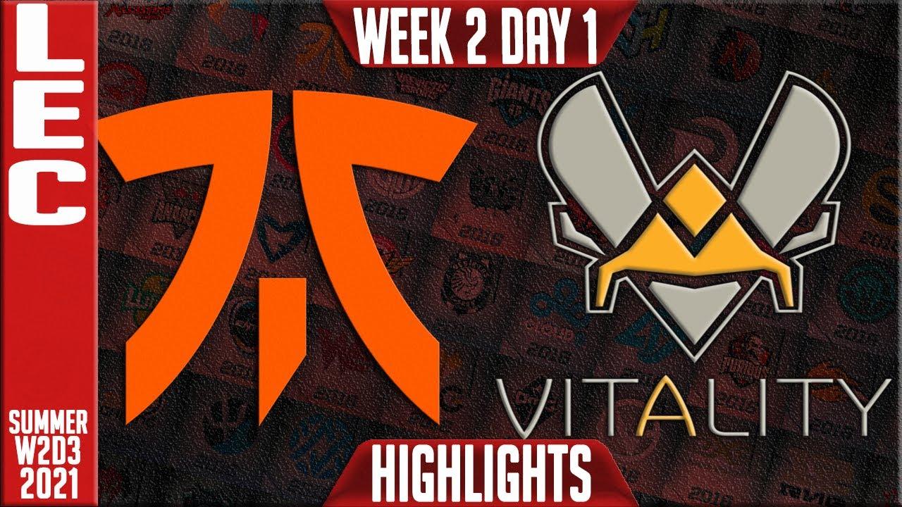 Download FNC vs VIT Highlights   LEC Summer 2021 W2D1   Fnatic vs Team Vitality