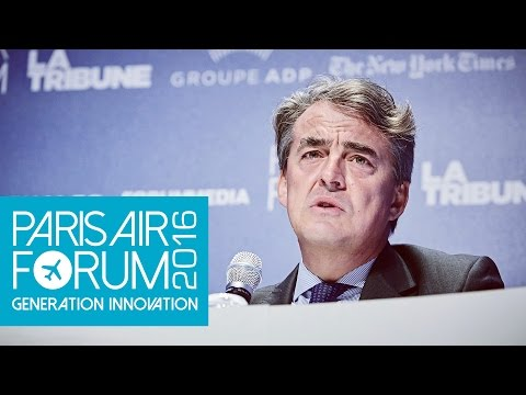 PARIS AIR FORUM Interview Alexandre de Juniac - Air France-KLM