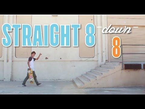 Straight 8 Down Perfect 8   John Hill
