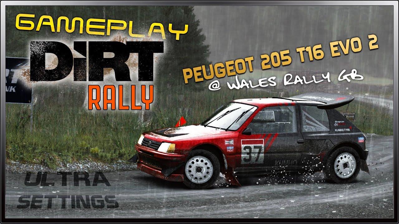 dirt rally ultra settings gameplay peugeot 205 t16 evo. Black Bedroom Furniture Sets. Home Design Ideas