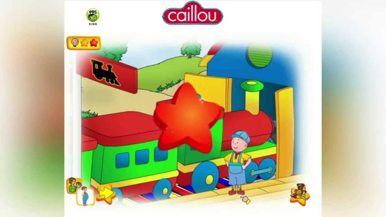 Caillou Spiel