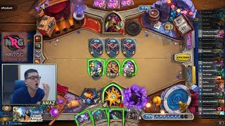 Hearthstone Amaz Dual Arena Specialist - 12 Win The Dream -