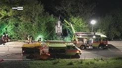 Rüti ZH: Junger Autofahrer verunfallte spektakulär im Zürcher Oberland – Beifahrerin im Spital