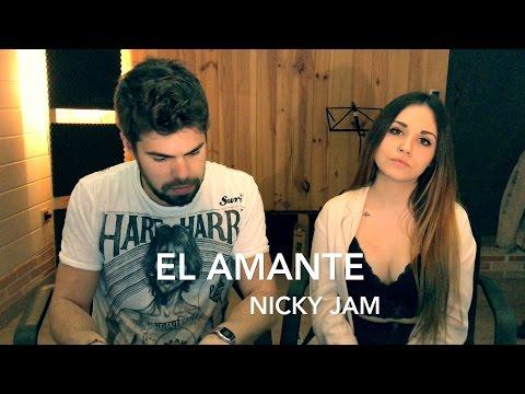 EL AMANTE - NICKY JAM (PIANO COVER - CAROLINA GARCÍA Y SERGIO LÓPEZ) #bestcoverever