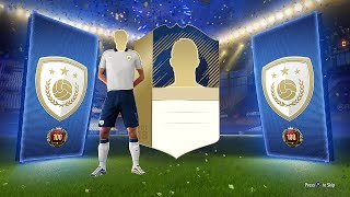 WE PACKED AN ICON!  TOP 100 FUT CHAMPS REWARDS - FIFA 18 Ultimate Team