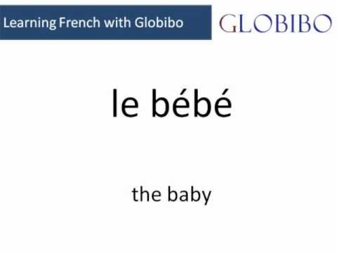 Language Course - French A1 - Lesson 1 (words) - Globibo