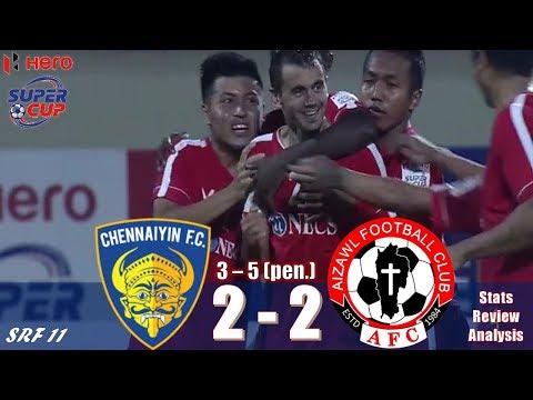 Indian Super Cup 2018: Chennaiyin FC vs Aizawl FC | 2-2 (3-5 PEN.) | Match Review, Stats, Analysis